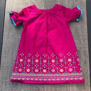 Fuchsia Smock Dress 👗